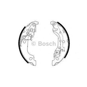 Slika za Kočioni paknovi Punto bez ABS Bosch